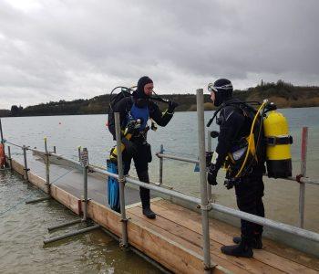 LSAC Diving at St Andrews Lake in Kent