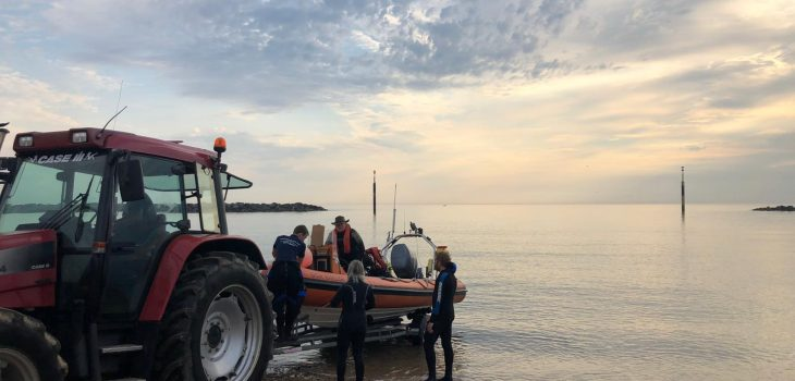 tractor launch at sea palling