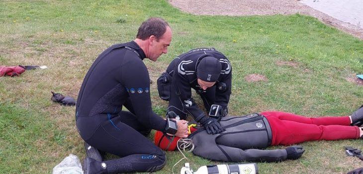 Oxygen enriched basic life support