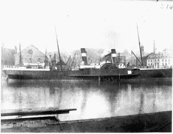 Paddlesteamer - The Countess of Erne